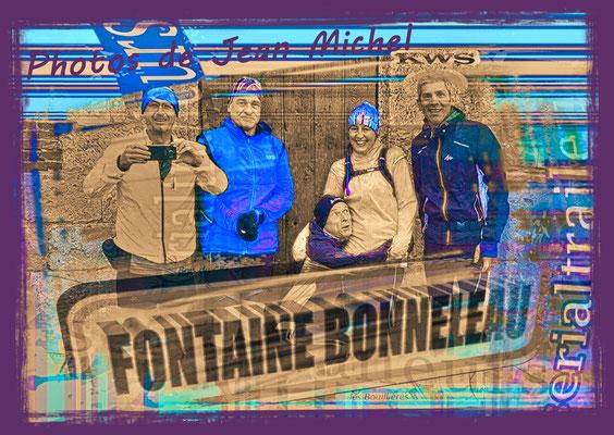 Sortie à Fontaine Bonneleau avec Martin (dép60 - 15/20km - Sam22/02/2020)