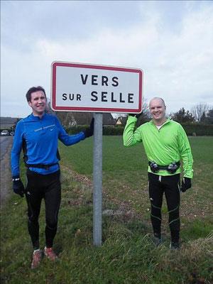 Sortie avec David au départ de Vers/Selle (dép80 - 21km - Mer02/01/2013).