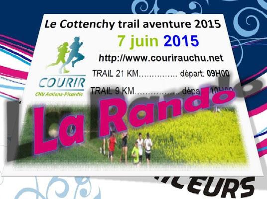 Trail de Cottenchy 2015 - La Rando (dép80 - 5km - Dim07/06/2015)