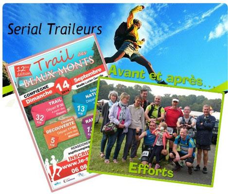 Trail des Beaux Monts - Avant & après efforts (Compiègne - dép60 - 5/15/32km - Dim14/09/2014)