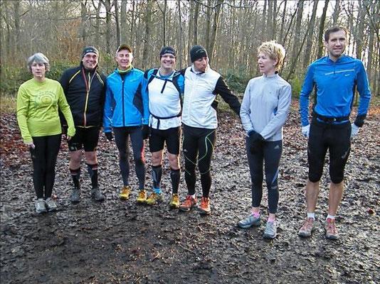 Sortie avec Boris et JPh au départ de Vers/Selle, direction la forêt de Creuse (dép80 - 10 et 20km - Dim30/12/2012)