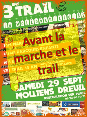 La Molldreuilloise, avant 14h