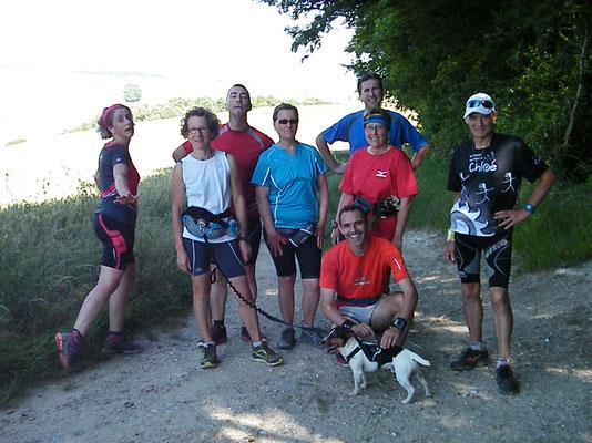 Sortie à Gouy les Groseillers avec JPh (dép60 - 18/21km - Sam21/06/2014)