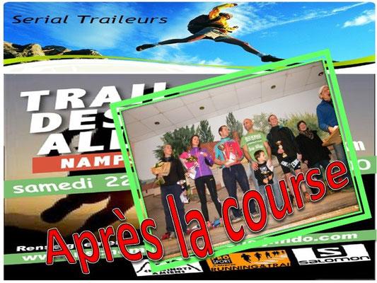 Trail des Allumés 2014 - Après la course (Namps au Val - dép80 - 15km - Sam22/11/2014)