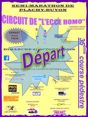 Ecce Homo - Départ (Plachy-Buyon - dép80 - 21km - Dim21/10/2018)