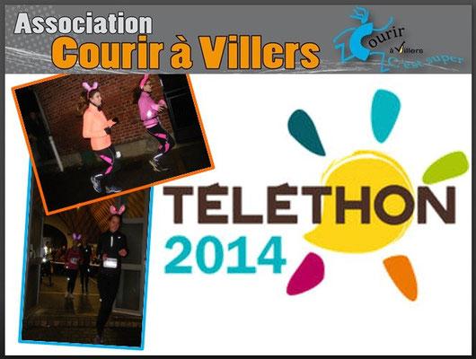 Ekiden du Téléthon (Villers Bretonneux - dép80 - 42km relais - Ven05/12/2014)