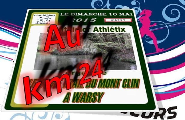 Trail du Mont Clin 2015 - au km24 (Warsy - dép80 - 15/25km - Dim10/05/2015)