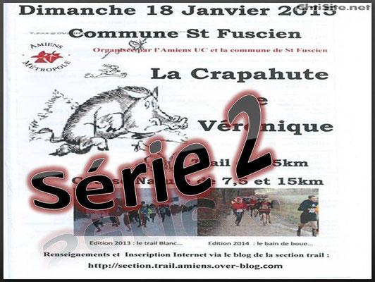 La Crapahute 2015 - Série2 (St Fuscien - dép80 - 8/15/25km - Dim18/01/2015)
