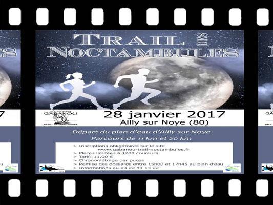 Trail des Noctambules (Ailly/Noye - dép80 - 11/20km - Sam28/01/2017)