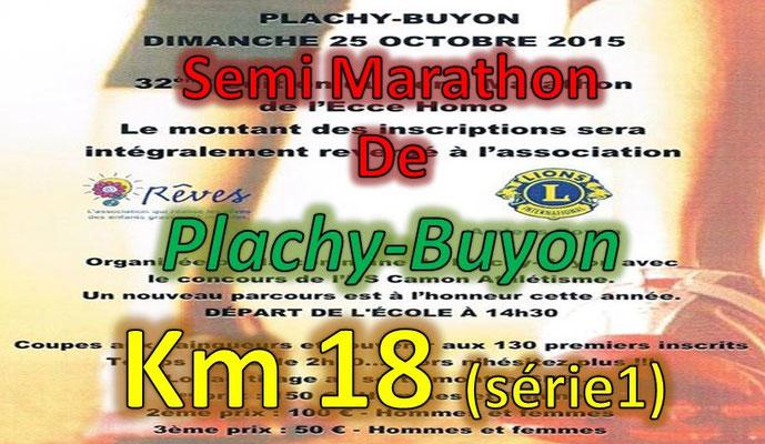 Semi Marathon de Plachy Buyon - km16.1 (dép80 - 21km - Dim25/10/2015)