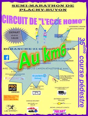 Ecce Homo - Au km6 (Plachy-Buyon - dép80 - 21km - Dim21/10/2018)