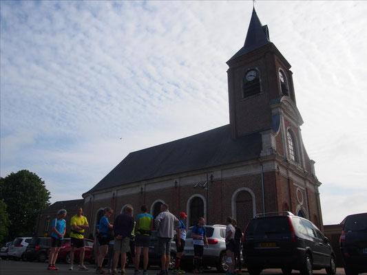 Sortie à Saint Léger les Domart avec Martin (dép80 - 15/22km - Sam20/06/2015)