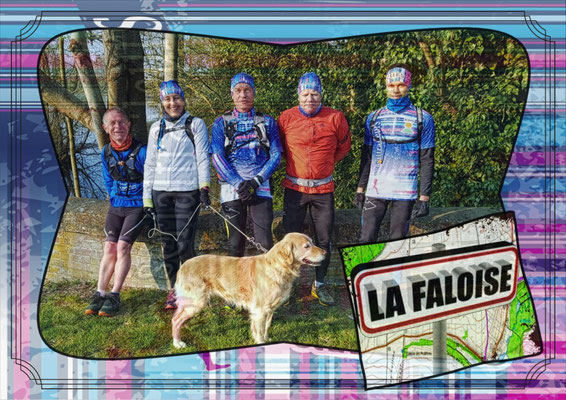 Sortie à La Faloise avec Martin (dép80 - 15km - Sam13/04/2019)