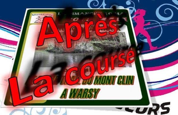 Trail du Mont Clin 2015 - l'après course (Warsy - dép80 - 15/25km - Dim10/05/2015)