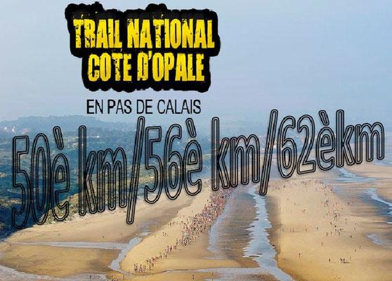 Trail de la côte d'Opale 2015 - 50è, 56è et 62è km (Wissant - dép62 - Dim13/09/2015)