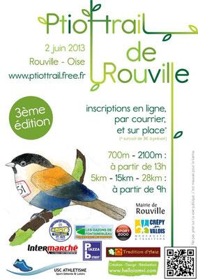P'tiot Trail de Rouville (dép60 - 5/15/28km - Dim02/06/2013)
