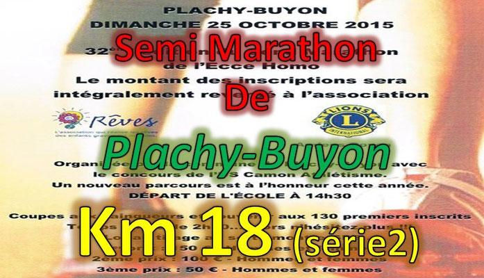 Semi Marathon de Plachy Buyon - km16.2 - 21km - Dim25/10/2015)