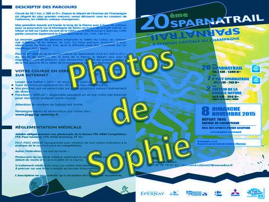 Sparnatrail 2015 - Photos de Sophie (Epernay - dép51 - 15/32/57km - Dim08/11/2015)