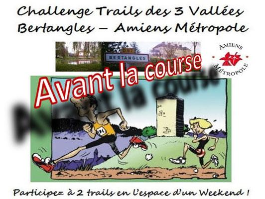 Trail de Bertangles 2015 - Avant la course (dép80 - 22km - Dim05/04/2015