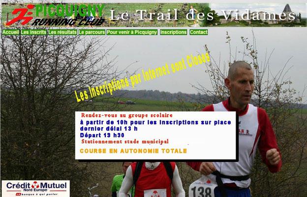 Trail des Vidames (Picquigny - dép80 - 23km - Mar11/11/2014)