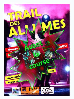 Trail des Allumés - Avant la course (Namps au Val - dép80 - 15km - Sam24/11/2018)