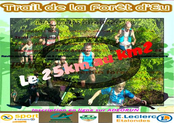 Trail de la forêt d'Eu - Le 25km au km2 (dép76 - 13/25km - Dim06/05/2018)