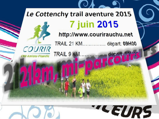 Trail de Cottenchy 2015 - 21km mi-parcours (dép80 - Dim07/06/2015)