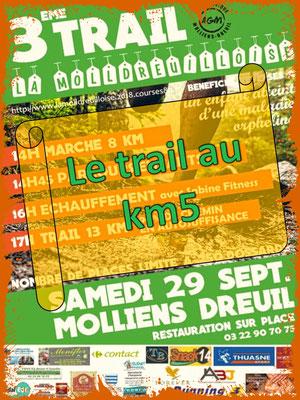 La Molldreuilloise, le trail au km5