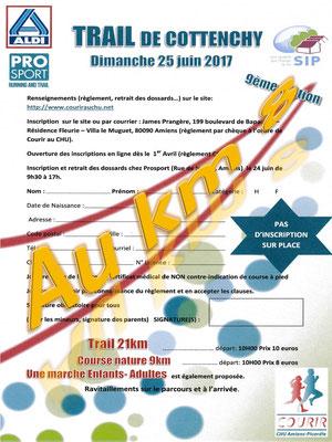 Trail de Cottenchy - Au km8 (dép80 - 9/21km - Dim25/06/2017)