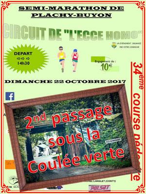 Semi-Marathon de Plachy-Buyon - 2nd passage (dép80 - 21km - Dim22/10/2017)