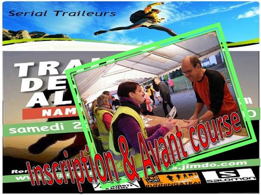 Trail des Allumés 2014 - Inscription&Avant course (Namps au Val - dép80 - 15km - Sam22/11/2014)