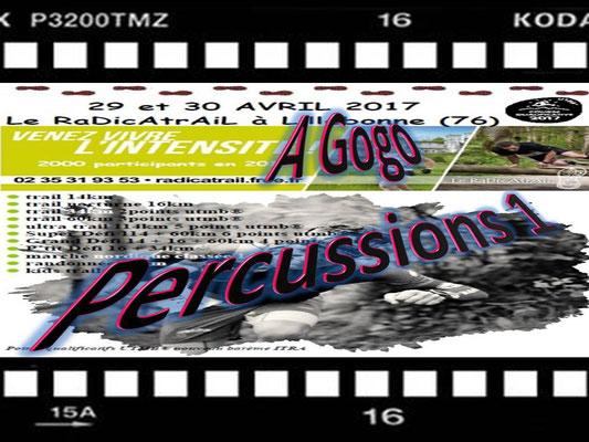 Radicatrail - A Gogo Percussions 1 (Tancarville - dép76 - Dim30/04/2017)