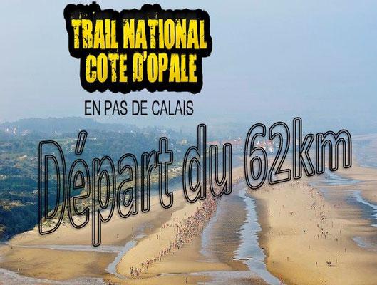 Trail de la côte d'Opale 2015 - Départ du 62km (Wissant - dép62 - Dim13/09/2015)