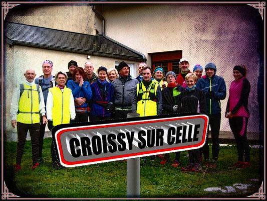 Sortie à Croissy/Celle avec Martin (dép60 - 15km - Sam26/01/2019)