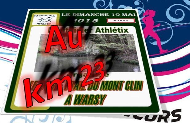 Trail du Mont Clin 2015 - au km23 (Warsy - dép80 - 15/25km - Dim10/05/2015)