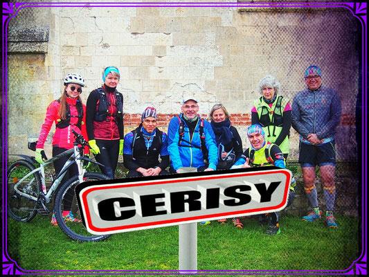 Sortie à Cerisy avec JPh (dép80 - 12/14/17km - Sam09/03/2019)