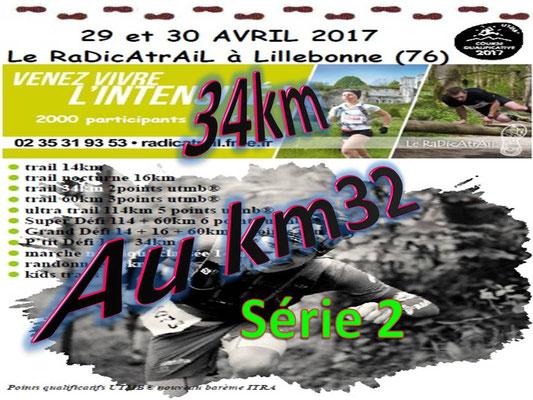 Radicatrail - Le 34km au km32 série 2 (Tancarville - dép76 - Dim30/04/2017)