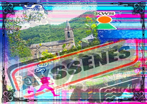 Sortie à Ayssènes (dép12 - 33km - Mer21/08/2019)