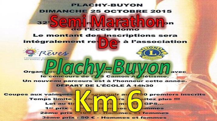 Semi Marathon de Plachy Buyon - km6 (Dép80 - 21km - Dim25/10/2015)