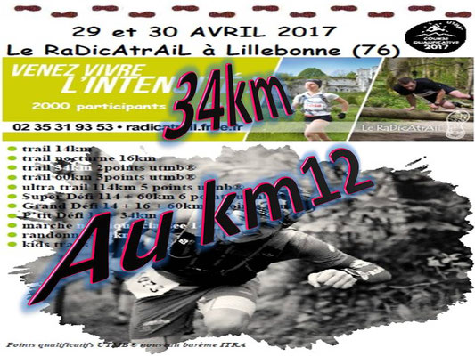Radicatrail - Le 34km au km12 (Tancarville - dép76 - Dim30/04/2017)