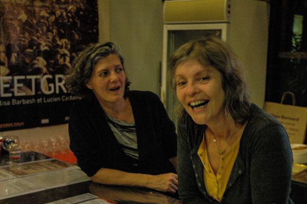 Anne-Charlotte et Sylvie, bénévoles