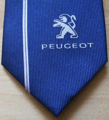 Krawatten Logo Vorderseite zentral