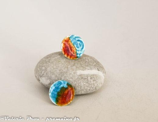 Boucles diamètre 1,3 cm en argent pur : 35 €