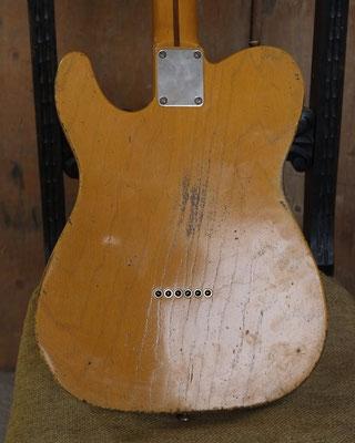 Broadcaster Nocaster Relic Repro Butterscotch Telecaster www.artys-cusom-guitars.com