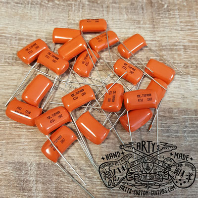Orange Drop Guitar Tone Capacitor  www.artys-custom-guitars.com