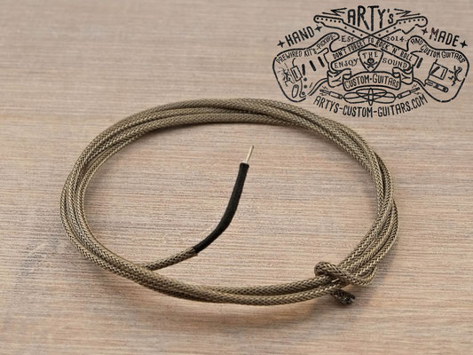Braided Shield Cloth Wire AWG 22