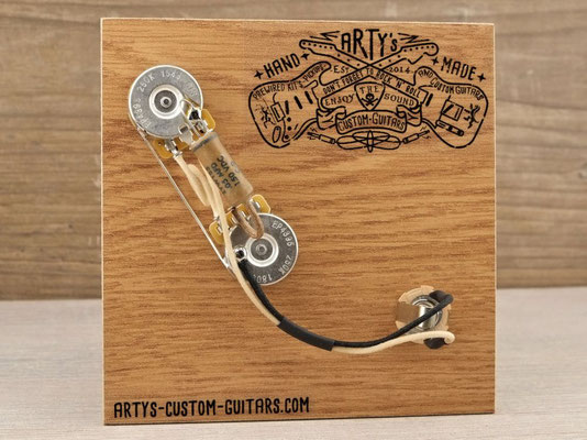 PREWIRED HARNESS PRECISION BASS P-Bass artys-custom-guitars.com