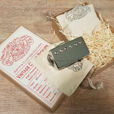 Vintage Clone Pickups Humbucker P.A.F. artys-custom-guitars.com Arty's Custom Guitars