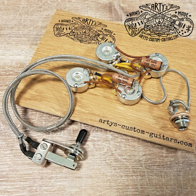 TELECASTER DELUXE 1972 WIRING HARNESS www.artys-custom-guitars.com