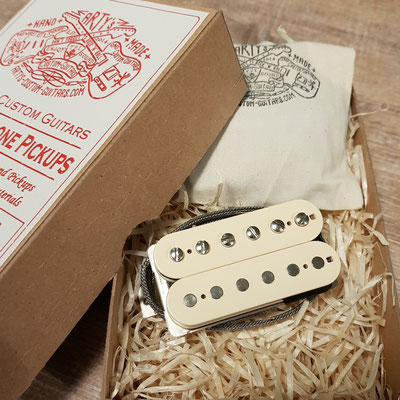 Hot PAF Humbucker Vintage Clone Pickup www.artys-custom-guitars.com Arty's Custom Guitars